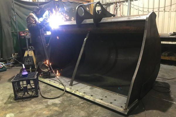 50ton mud welding