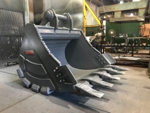 TP1300 35 ton quarry bucket