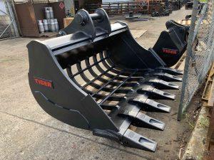 Specialist Tunnel Excavation CX235 custom 1800mm sieve J400 1